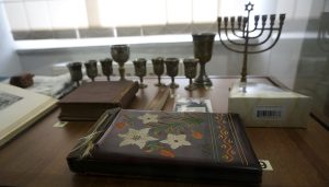 Donated Jewish artifacts