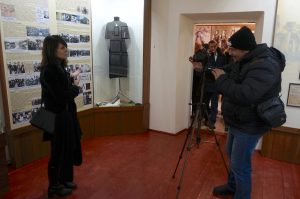 Slava interviewing Marla