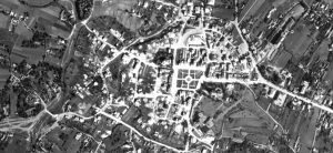 An excerpt from a Luftwaffe aerial photo of Rohatyn