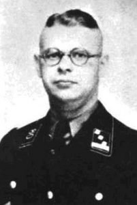 Hans Krüger in uniform