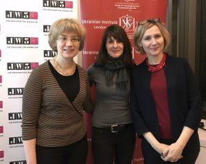 Iryna, Marla, and Marina together