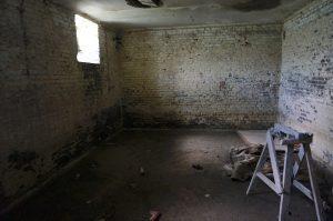 The cellar where 13 Jews hid