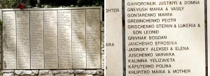 Wall of Honor at Yad Vashem